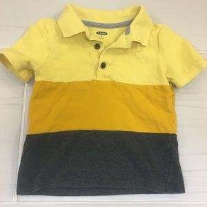 Old Navy striped polo